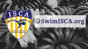 SwimISCA.org with steel dot